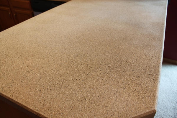 counter sanded