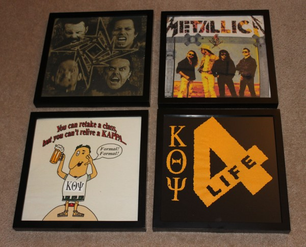 Framing Concert T-Shirts