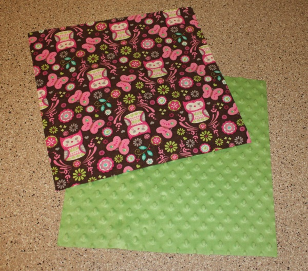 Tag blanket tutorial fabric
