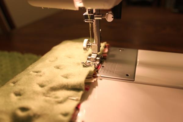 Tag blanket tutorial sewing