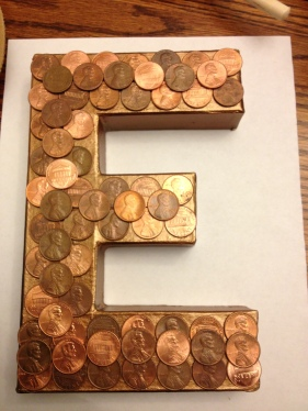 Penny Letters layout