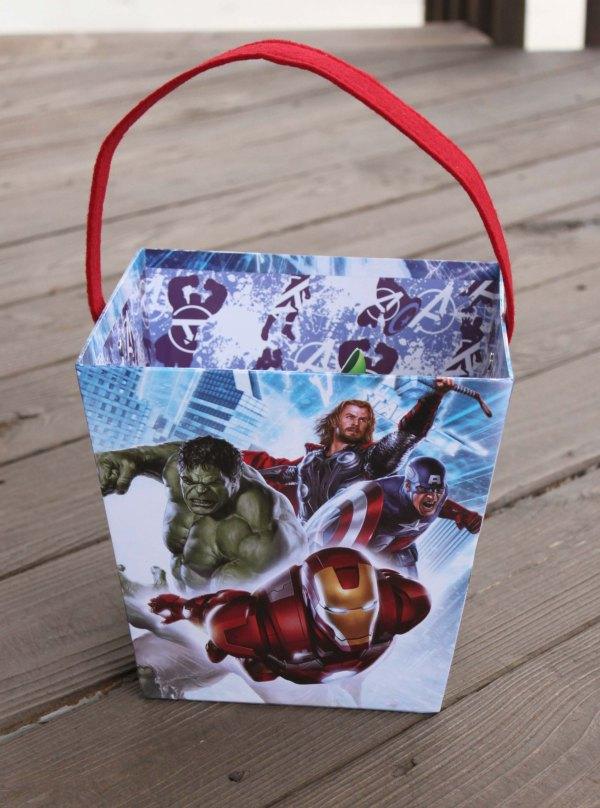 Avengers Easter Basket
