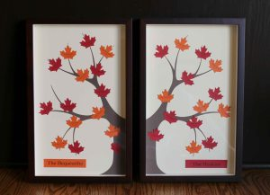 Double Framed Family Tree