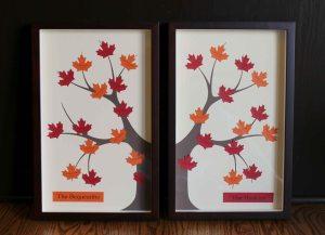 Double Framed Family Tree