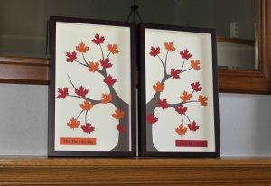 Dual Framed Family Tree