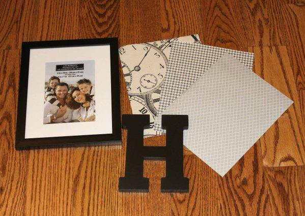 framed monogram supplies