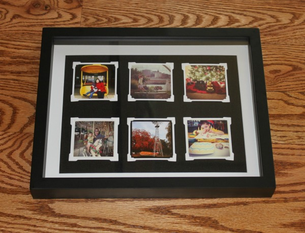 Shadow Box Framed Instagram Photos