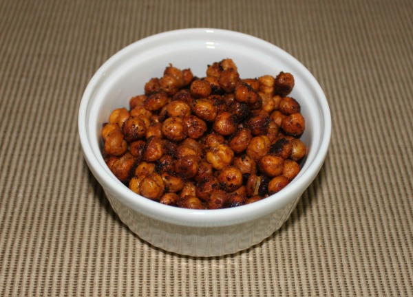 Roasted Chipotle Chickpeas