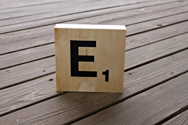 Monogram Scrabble Tile
